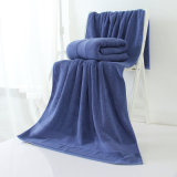 綿のテリー昇進の明白な染められた浴室/表面/タオル