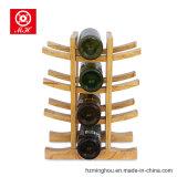 De unieke Tribune van de Vertoning van de Wijn van de Pijnboom van 12 Flessen voor het Rek van de Vertoning