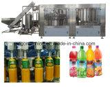 Compléter l'installation de mise en bouteille liquide chaude automatique de jus de fruits pour la pulpe