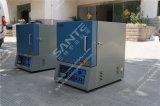 Fornace elettrica a forma di scatola per il trattamento termico del laboratorio (1200c, 180X230X150mm)