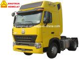 Sinotruk HOWO-A7 340HPの6車輪のトラクターヘッド4X2トラクターのトラック