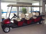 Venta caliente coche turístico eléctrico de barato 8 pasajeros