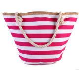 Mehrfarbenform-Frauen-Handtaschen-Segeltuch und PU-Beutel (BDX-161060)