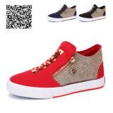 子供KtK307のための男女兼用の方法ズック靴