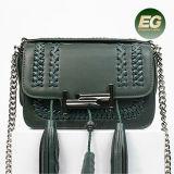 2017 bolsa de mão de luxo de luxo bolsa de mão de couro real bolsas de ombro de moda emg4918