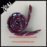 Cravate chinoise de Mens tissée par soie parfaite de noeud
