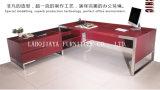 Moderner Leder MDF-Büro-Tisch (V3)