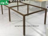簡単なオフィスワークステーション家具の鉄骨フレームの机の足