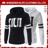 Le vêtement Hoodie blanc occasionnel (ELTHI-114) faits sur commande des hommes