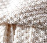 Сплетенное одеяло мягкого хлопка одеяла кровати хода хлопка уютное