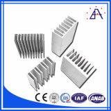 각종 6063-T5 알루미늄 열 싱크 또는 알루미늄 방열기의 모든 필요를 만족시키십시오