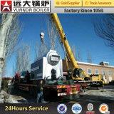 Dzh4-1.25-T 4ton / Hr Chaudière à vapeur à charbon pour l'industrie des plastiques / Usine