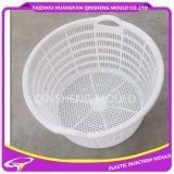 Molde sujo circular da cesta de roupa da injeção plástica