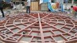 Алюминиевая ферменная конструкция трапа