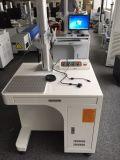 Пластичная Desktop машина маркировки лазера волокна с сертификатом Ce