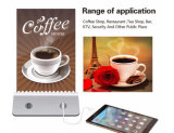 13000mAh Stand Holder Menu Power Bank Billboard Chargeur pour Hotel Bar Coffee Shop