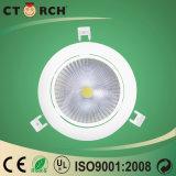 Diodo emissor de luz novo para baixo 16W claro de Rotatble do projeto de Ctorch