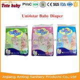 2016 het Snelle Nieuwe Ontwerp die van de Absorptie de Luier van de Baby vertroetelen (Uni4star)