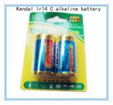батарея 2PCS 1.5V Lr14 c алкалическая