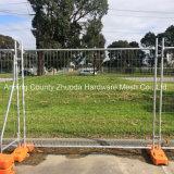 Наградная горячая окунутая гальванизированная временно загородка для Австралии