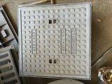 Tampa de câmara de visita quadrada do ferro de carcaça da areia do frame para o peso leve