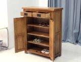 Шкаф товаров высокого качества шкафа ботинка древесины дуба (M-X1042)