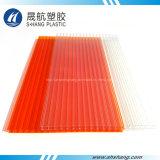 Populäre Dekoration-materielles Plastikpolycarbonat-Höhlung PC Blatt