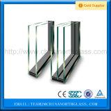 Baixo E de prata triplo que reveste 6/12/6 borda morna de vidro isolado