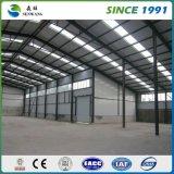 Almacén de la estructura de acero/vertiente prefabricada del garage