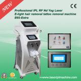 ND Multifunction YAG do laser do IPL RF da máquina da beleza de E6s para a remoção do tatuagem