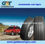 Pneu de véhicule avec le pneu 195r14c