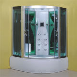 Cabine completa 1200 80 do chuveiro do vapor da massagem da alta qualidade