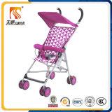 Buggy di bambino viola del portable 8 delle rotelle popolari superiori di EVA dalla fabbrica del Hebei Tianshun