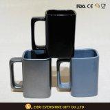 Metallblauer keramischer Becher 16oz für Kaffee/Tee/Milch/Bier