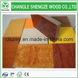 MDF меламина материала 1220*2440 mm тополя клея E2