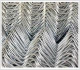 De pvc Met een laag bedekte Relatie van de Ketting het Netwerk van de Omheining/de Draad van de Diamant/de Omheining van de Link van de Diamant
