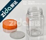 Frasco plástico do plástico do tampão de parafuso do frasco do alimento do mel do animal de estimação de 220 Ml