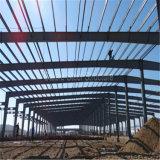 Almacén ligero prefabricado de la estructura de acero del marco