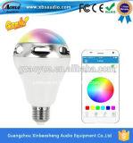 APP 통제를 가진 변화 LED 지능적인 Bluetooth 스피커를 착색하십시오