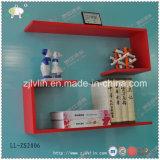 MDF decorativa Floating prateleira parede de madeira