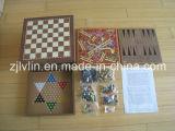 Giocattoli di legno del gioco del gioco di scacchi di Conbination