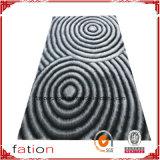 Gleitschutzwohngebiet-Wolldecke-Polyester L 3D Shaggy Teppich/Wolldecke