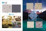 Pedra projetada de quartzo da bancada da cozinha do Zircon KF-106 superfície contínua