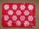 Bandejas de empaquetado de la fruta y verdura disponible del material plástico