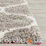 Bereichs-Wolldecke der Polyester-Marine-100% und des Elfenbeins