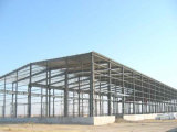 Светлое здание фабрики стальной структуры полуфабрикат (KXD-SSB149)