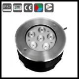 El RGB 3in1 6W 18W impermeabiliza la luz del LED Inground