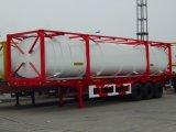 42000L kies de Aanhangwagen van de Olietanker van het Compartiment Uit
