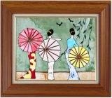 Het hete Schilderen van het Lapwerk van de Collage van het Frame van de Verkoop, het Schilderen van de Kunst van de Doek