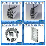 Extrusions en aluminium anodisées personnalisées